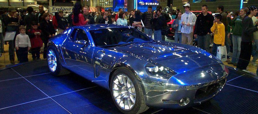 Shelby GR1 Concetp en el Chicago Auto Show