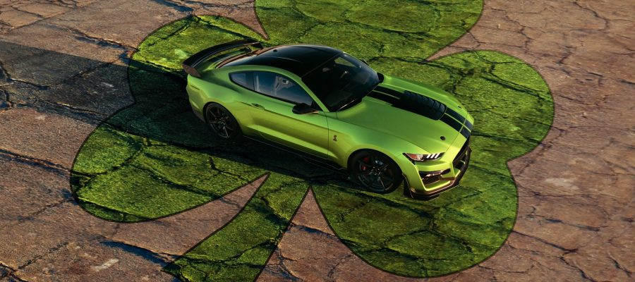 Ford Shelby GT500 Grabber Lime