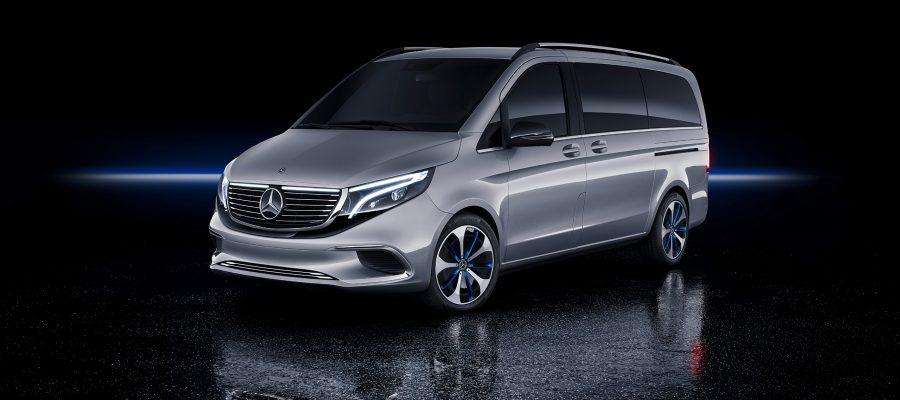 Mercedes Benz Concept EQV
