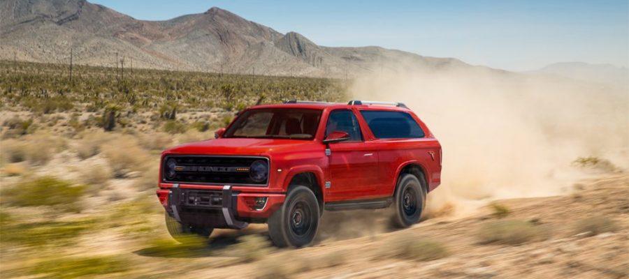 Ford Bronco 2020 híbrido