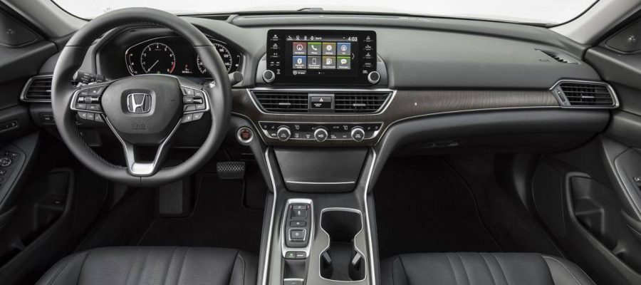 Honda Accord 2020 interior gris