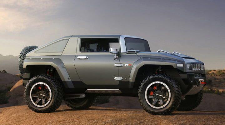 Hummer eléctrica HX Concept