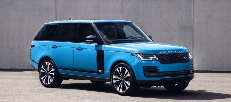 Land Rover a elaborado una edición especial apodado el Range Rover Fifty