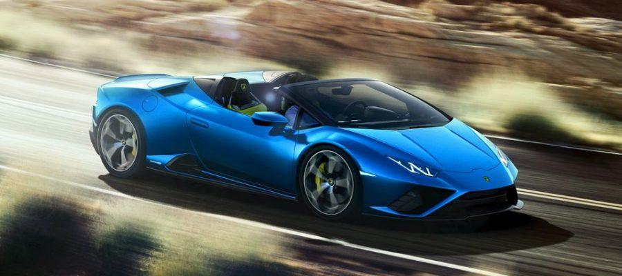 El Lamborghini Huracán ahora agrega una variante Evo Spyder descapotable