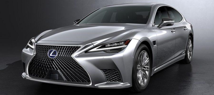 Los modelos híbridos Lexus LS500 y LS500h actualizados se ven un poco diferentes